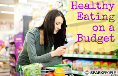 Eat healthy on a budget book