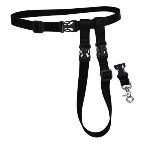 Running dog leash buddy system