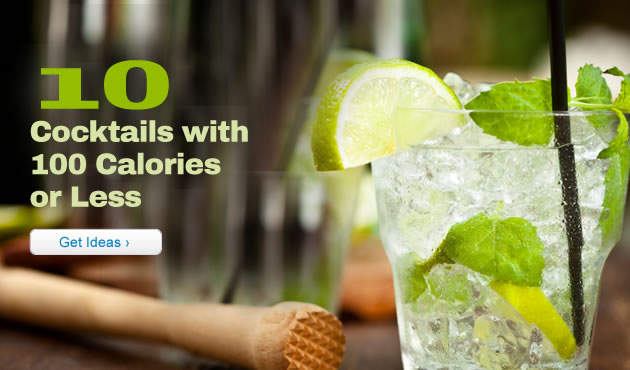 10 Cocktails with 100 Calories or Less