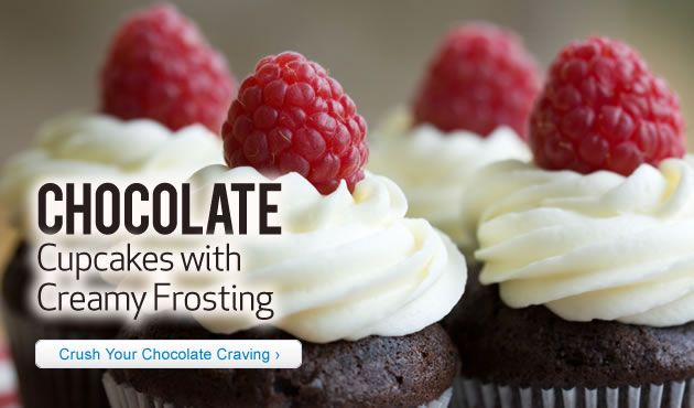 Chocolate Cupcakes with Creamy Frosting