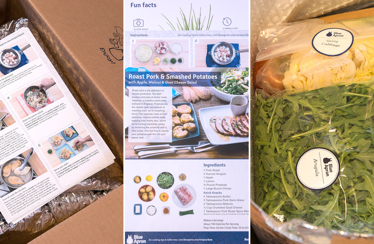 Blue apron packaging waste - Ten Days After I Placed My Order A Big Box Showed Up On My Front Porch Waiting Inside For Me Were 22 Perfectly Packaged And Clearly Labeled Ingredients