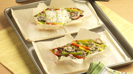 Chef Meg's Easy Steamed Fish Packets