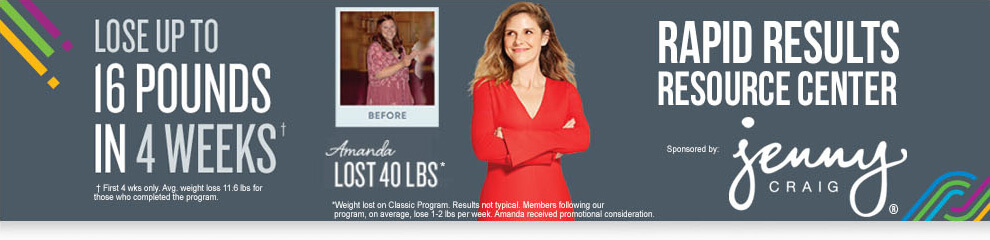 Jenny Craig Information And Articles Sparkpeople