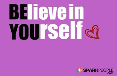 Motivational Quote - Believe in yourself.