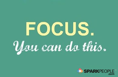 Motivational Quote - Focus. You can do this.