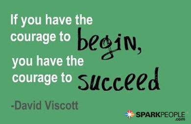 Motivational Quote - If you have the courage to begin, you have the courage to succeed.