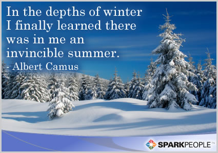 Motivational Quote - In the depths of winter I finally learned there was in me an invincible summer.