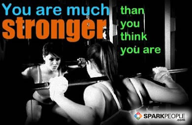 Motivational Quote - You are so much stronger than you think.