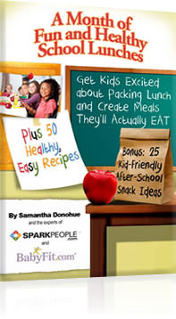 A Month of Fun and Healthy School Lunches from SparkPeople