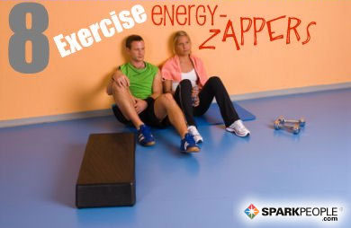 8 Exercise Energy Zappers