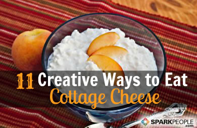 11 creative uses for cottage cheese slideshow sparkpeople rh sparkpeople com what do you make with cottage cheese what make with cottage cheese