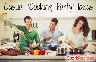 13 fun interactive dinner party ideas slideshow sparkrecipes - Ideas For Dinner Parties