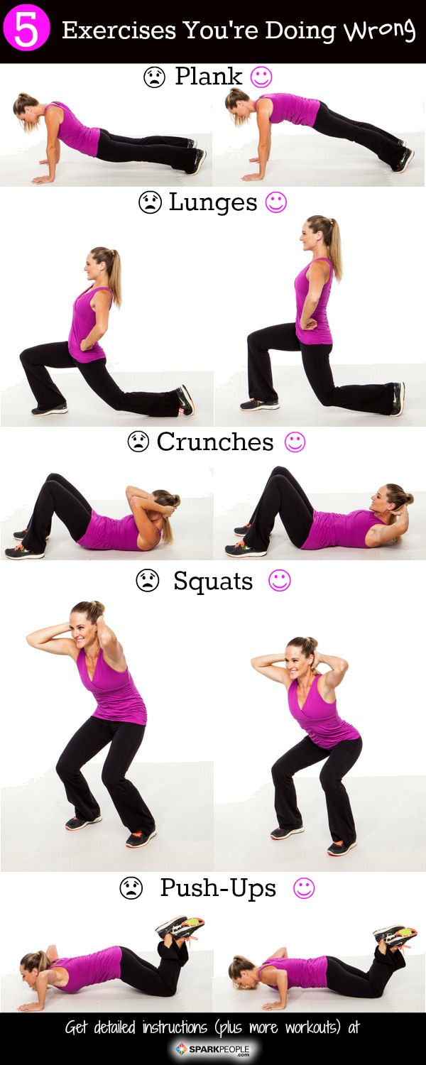 Exercises That You're Doing Wrong
