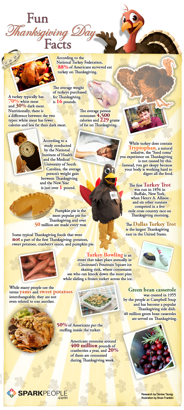 Thanksgiveing Facts For Kids