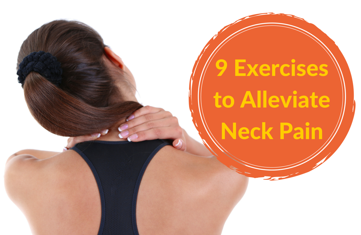 9 great exercises for neck pain