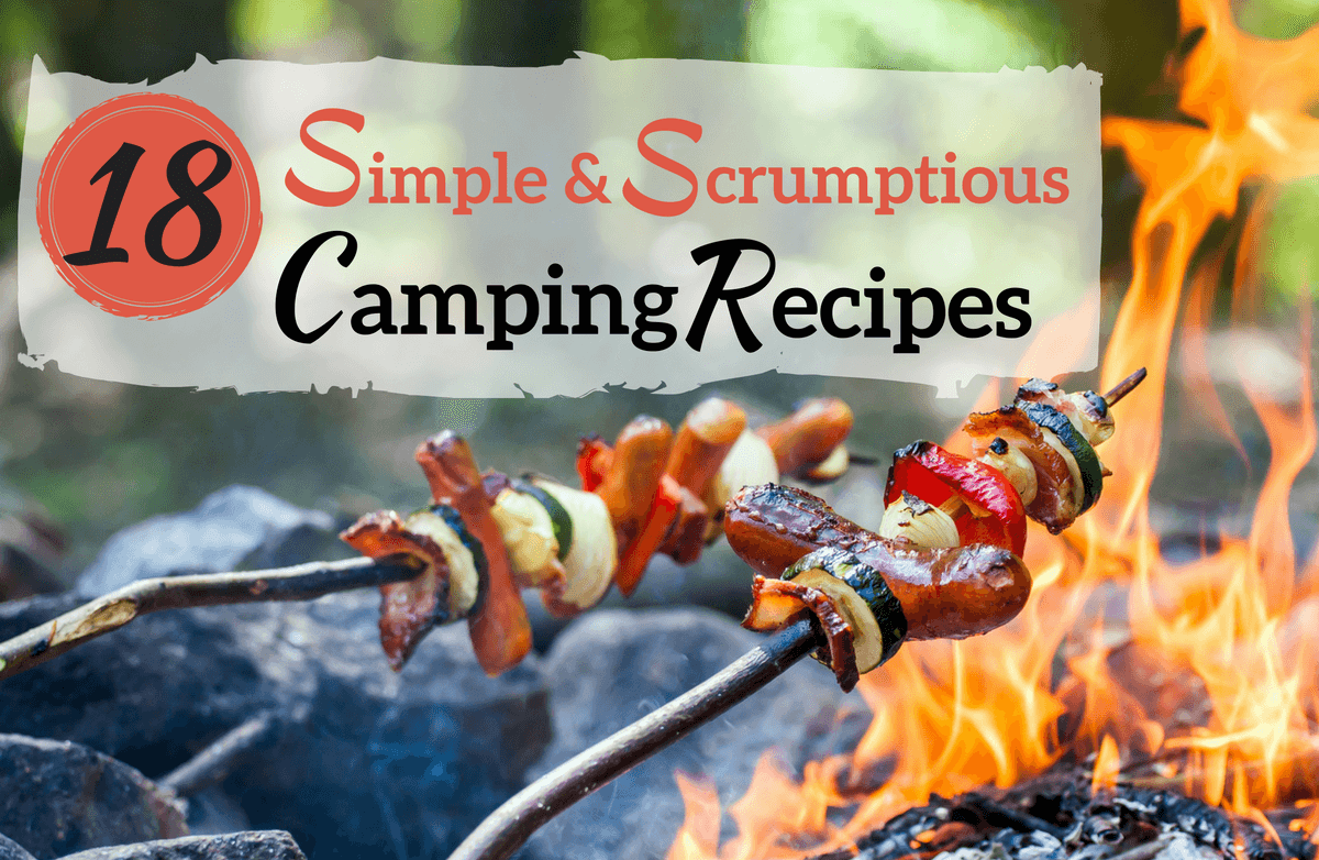 18 Essential Recipes Just for the Great Outdoors