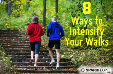 8 Ways to Step-Up Your Walking Workouts