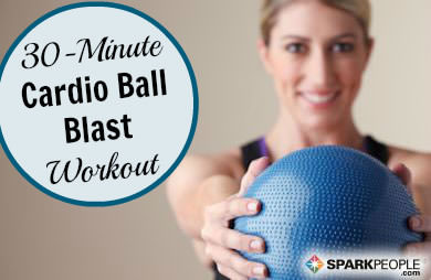 30-Minute Cardio Ball Blast Workout