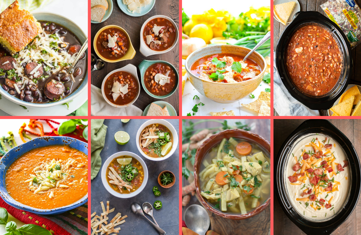26 Simple & Satisfying Slow Cooker Soups for Winter