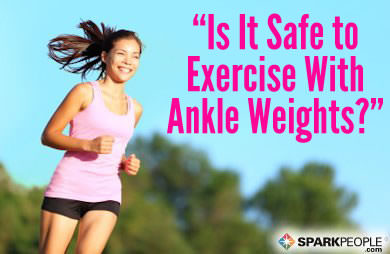 you asked 'is it safe to wear wrist or ankle weights