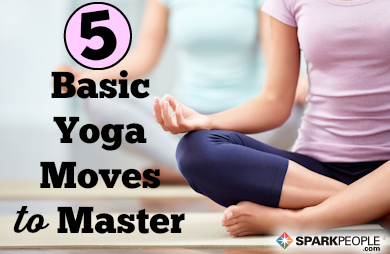 5 mustlearn yoga poses for beginners  sparkpeople
