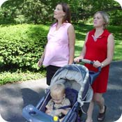 e02082dd6ab9a Life after the birth of a child can be extremely busy… and sleep depriving!  Finding time to exercise seems impossible, but getting your body back into  shape ...