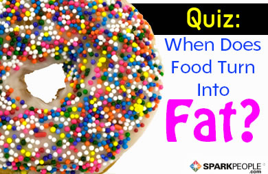 Quiz: When Does Food Become Fat?