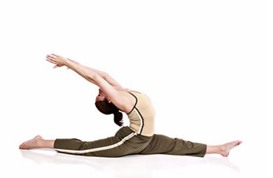advanced stretching routine  sparkpeople
