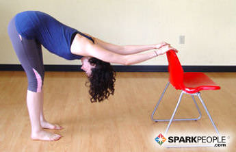 8 seated yoga poses you can do from a chair  sparkpeople