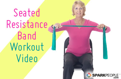 VIDEO: 20-Minute Seated Resistance Band Workout