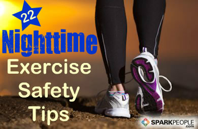 Safety Tips for Exercising in the Dark