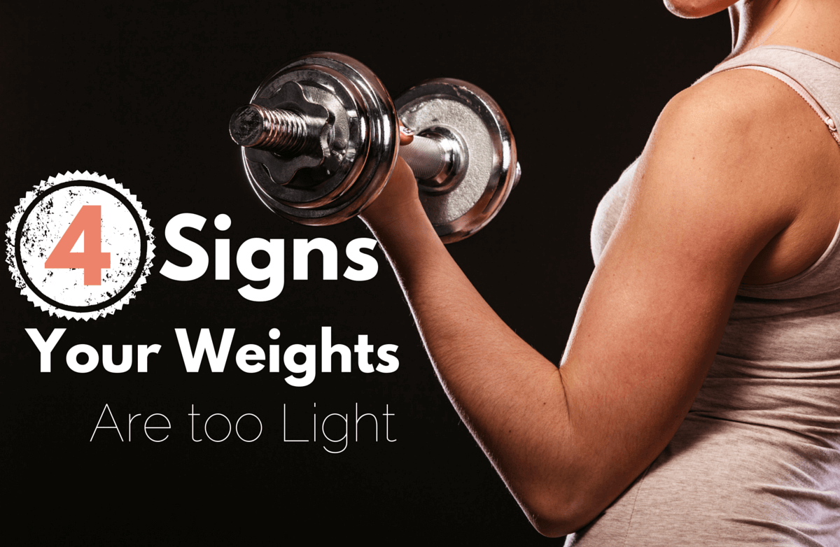 4 signs you need to lift more weight sparkpeople