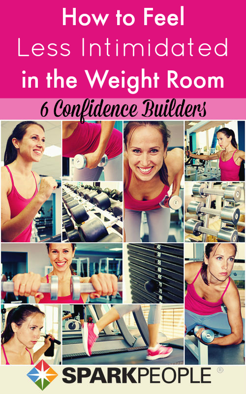 How to Feel Less Intimidated in the Weight Room | SparkPeople