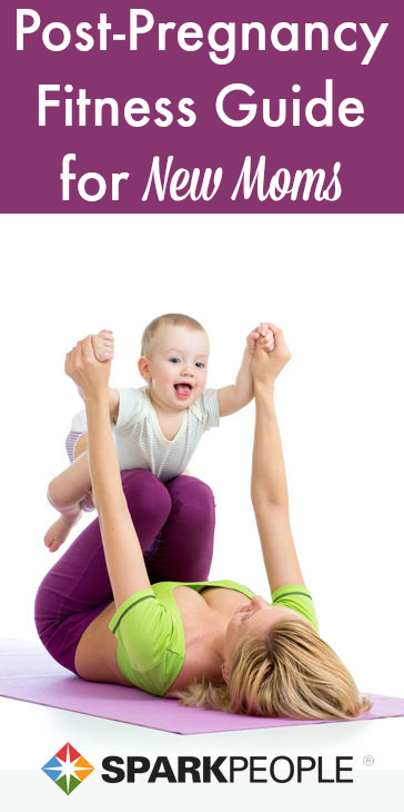 bouncing back into shape after baby sparkpeople