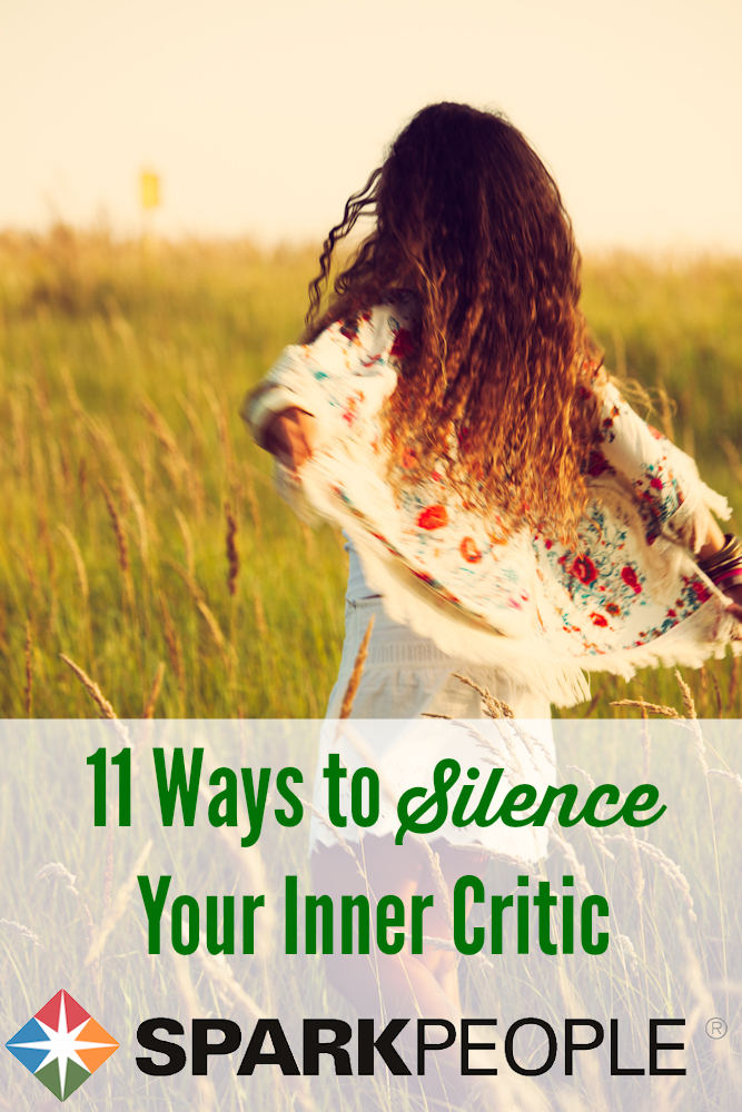 11 Ways To Silence Your Inner Critic Sparkpeople