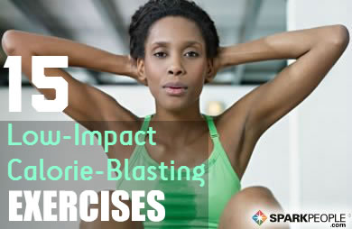 Low-Impact Exercises That Burn Major Calories