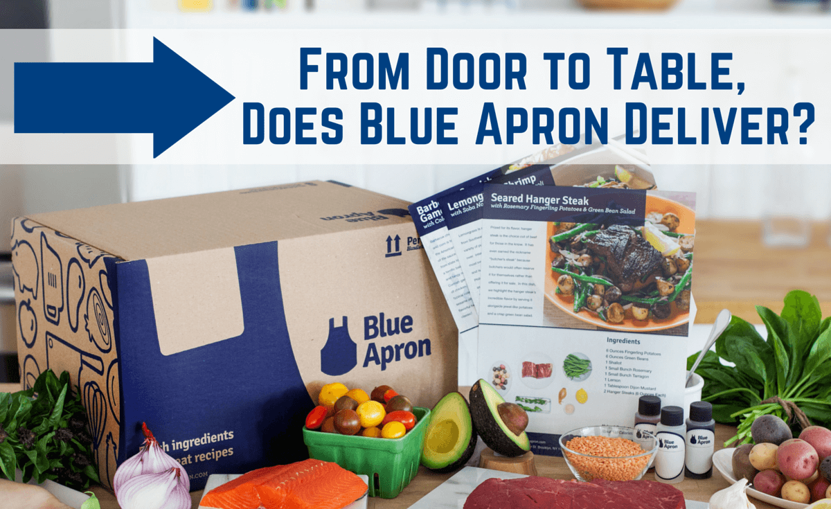 blue apron  signed  sealed  delicious