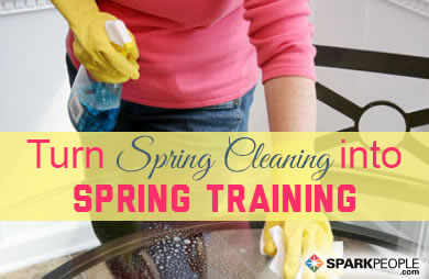 Turn Spring Cleaning into Spring Training