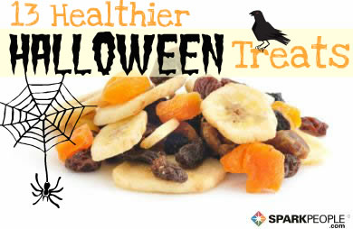 no tricks just healthier halloween treats sparkpeople