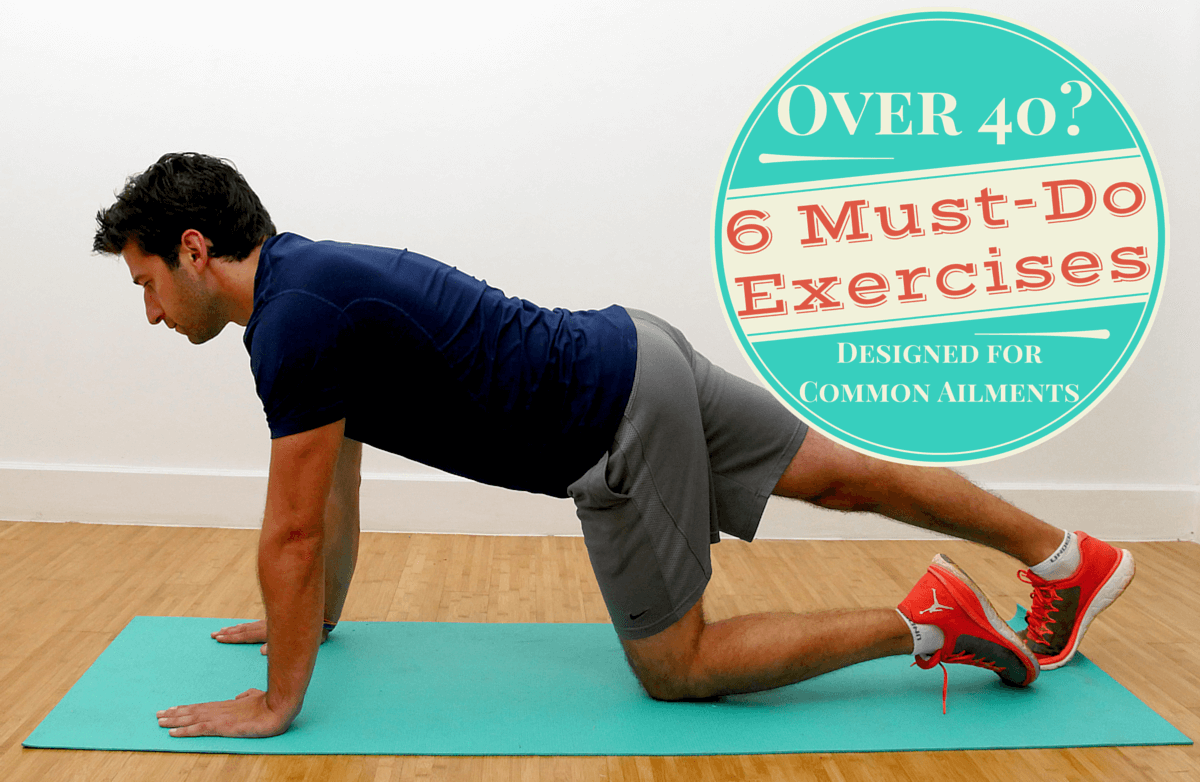 Over 40 Do These 5 Stretches Every Week To Stay Ache-Free