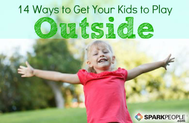 14 Ways to Encourage Kids to Play Outdoors