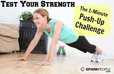 The Push-Up Test | SparkPeople