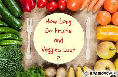 The Shelf Life of Fruits and Vegetables | SparkPeople