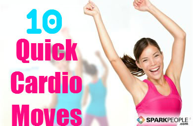 60 Second Cardio Moves