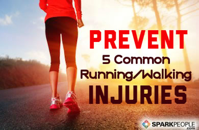 5 Common Running and Walking Injuries
