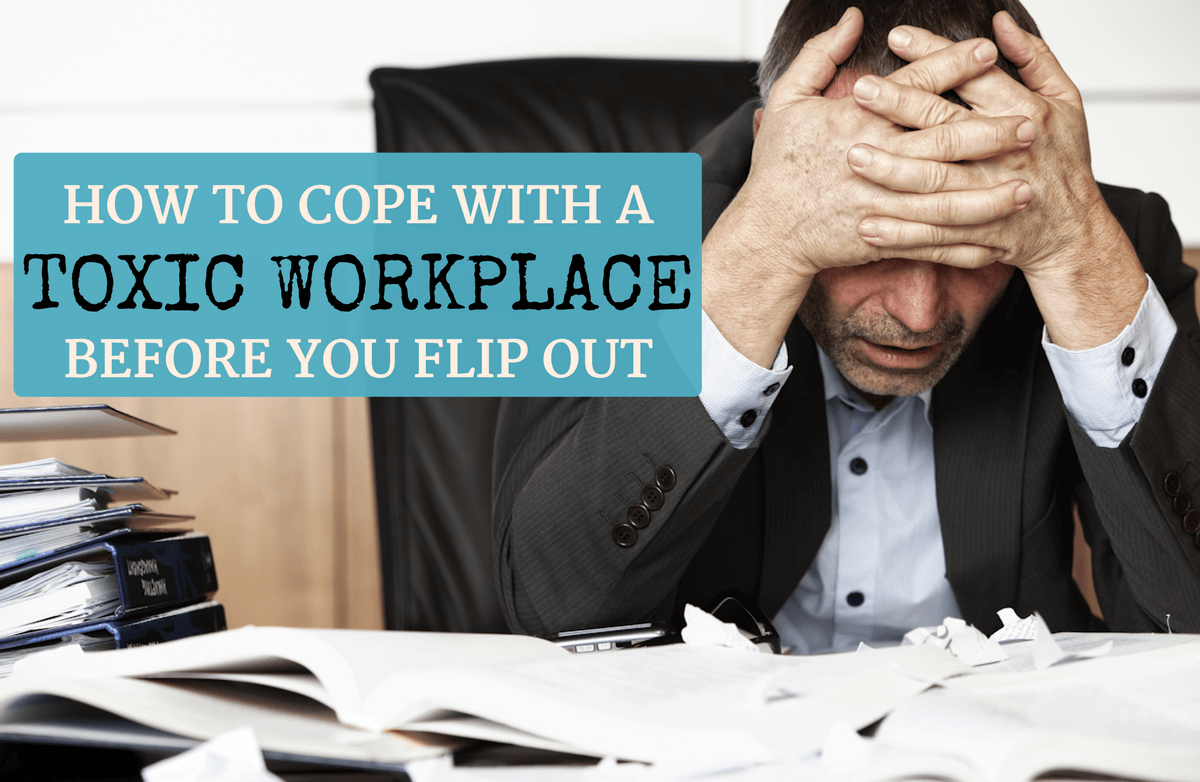 Is a Toxic Work Environment Sabotaging Your Health? | SparkPeople