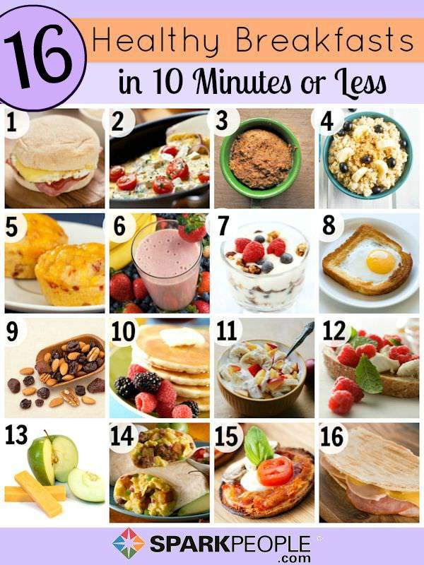Quick And Healthy Breakfast Ideas