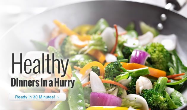 Healthy Dinners in a Hurry