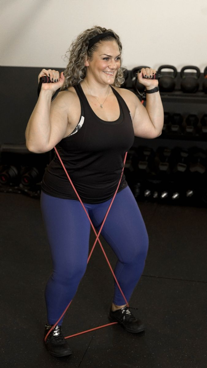 This is an image of Printable Resistance Band Exercises for Seniors regarding men's